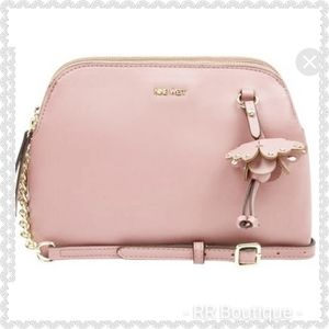 "NEW Nine West ""Marea"" Crossbody Blush"